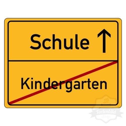 Tortenbild Kindergarten Schule