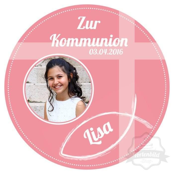 TortenBild_Kommunion_Rosa