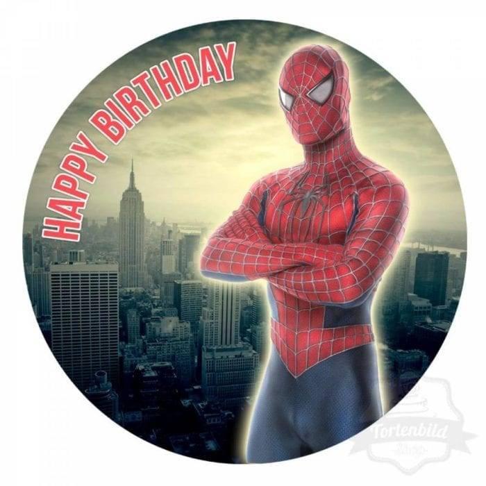 Spiderman Tortenbild