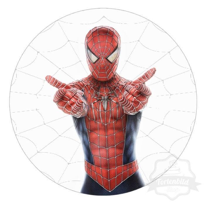 Tortenbild Spiderman Motiv 2