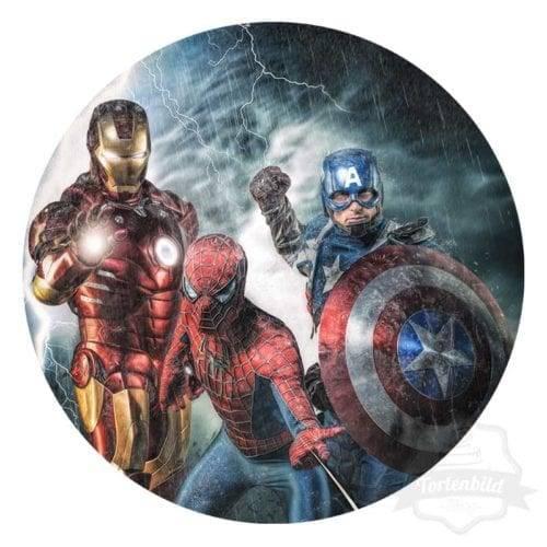 Tortenbild The Avengers