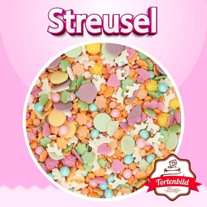 Zuckerstreusel Einhorn Medley