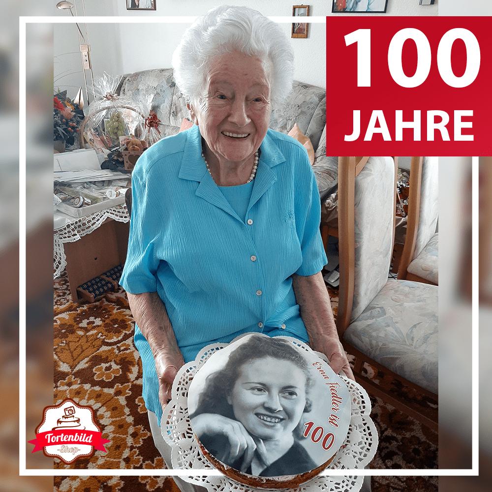 100 Jahre Tortenbild Oma